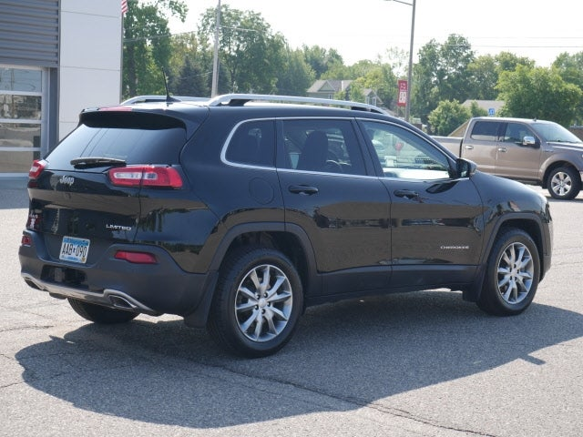 Used 2018 Jeep Cherokee Limited with VIN 1C4PJMDX3JD569865 for sale in Cokato, Minnesota