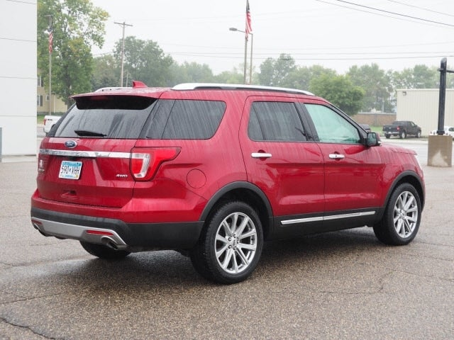 Used 2017 Ford Explorer Limited with VIN 1FM5K8F82HGB83704 for sale in Cokato, Minnesota