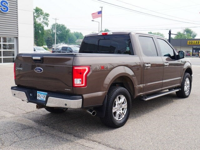 Used 2015 Ford F-150 XLT with VIN 1FTEW1EF6FKD10013 for sale in Cokato, Minnesota