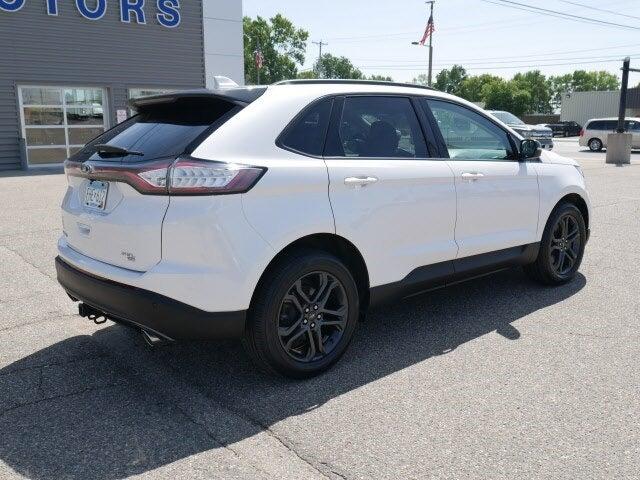 Used 2018 Ford Edge SEL with VIN 2FMPK4J85JBB14902 for sale in Cokato, Minnesota