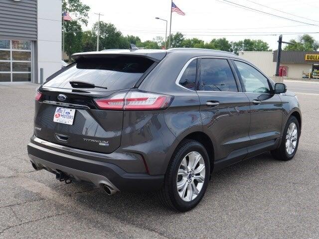 Used 2020 Ford Edge Titanium with VIN 2FMPK4K96LBA75148 for sale in Cokato, Minnesota