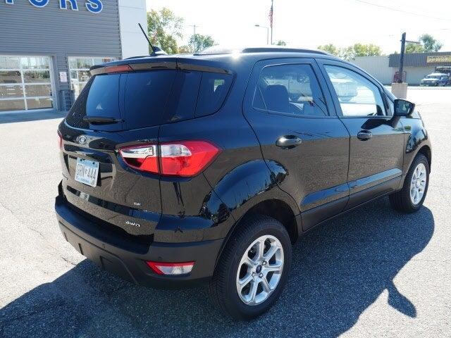 Used 2021 Ford EcoSport SE with VIN MAJ6S3GL5MC398273 for sale in Cokato, Minnesota